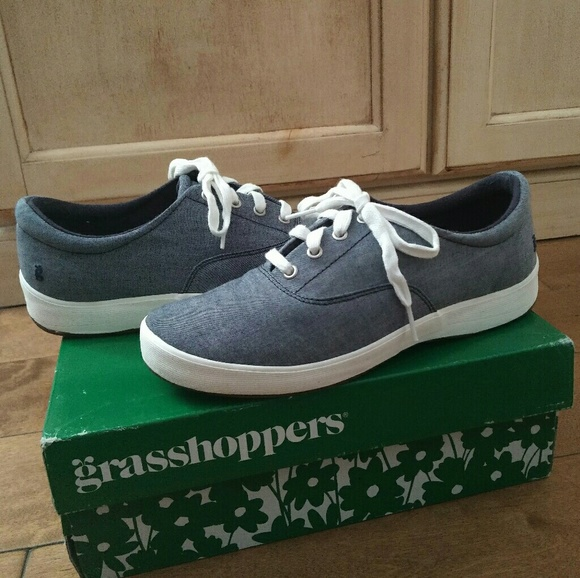 410a2fe92 Grasshoppers Shoes - Grasshoppers Janey DK Navy 8 Wide Tennis Shoes 8 W